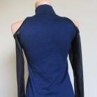 Nowa sukienka odkryte ramiona eko skórka sylwester randka M L XL