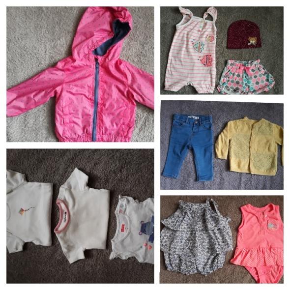 Zestaw ubrań dla dziewczynki 68