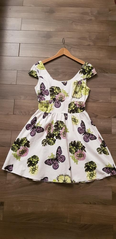 Closet sukienka vintage motyle r M...