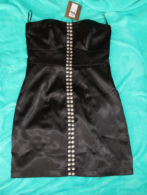 Czarna sukienka Vila S...