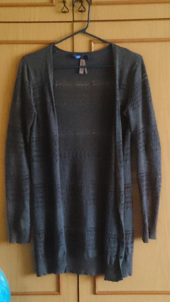 Szary ażurowy sweterek Next