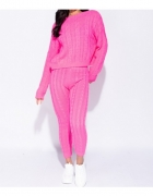 Parisian Zestaw Legginsy & Sweter Splot Neon...