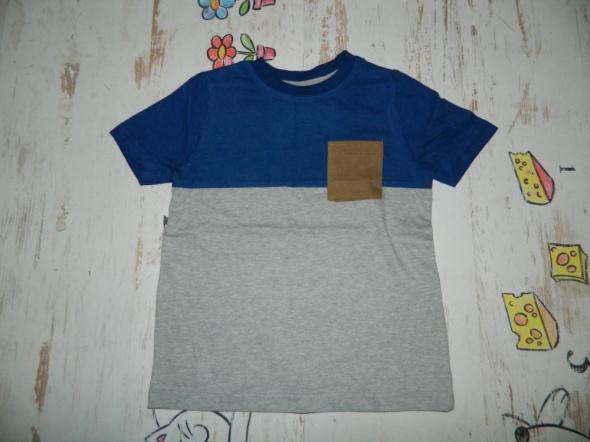 Koszulki, podkoszulki NUTMEG bawełniana koszulka krótki rękaw roz 92