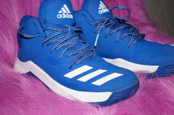 Buty Adidas niebieskie męskie...