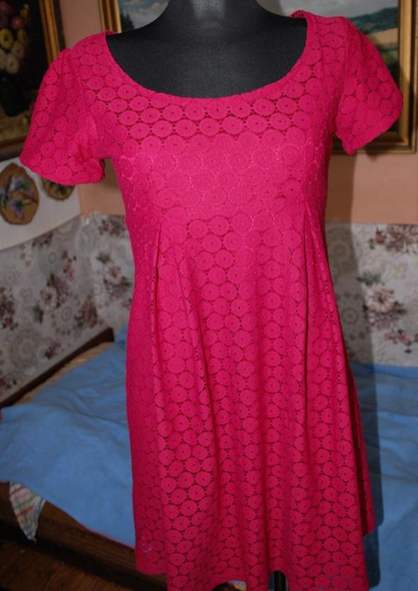 bab2943c47 HM bordowa koronkowa sukienka S M jak nowa w Suknie i sukienki ...
