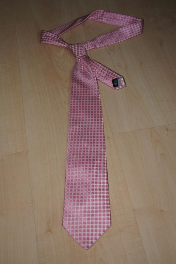 Krawat różowy SUNSET SUITS