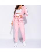 Parisian Komplet Dresowy Spodnie Skinny I Bluza Różowy...