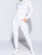 Parisian Komplet Dresowy Spodnie Skinny I Bluza Biały...
