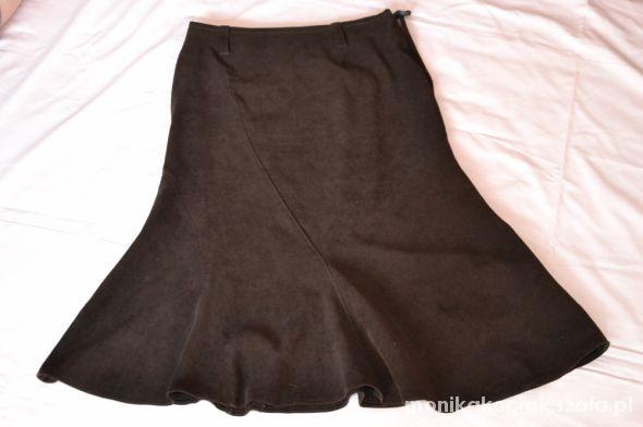 Spódnice Spodnica Czekoladowa
