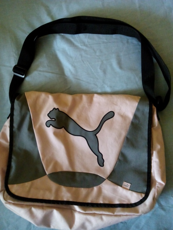 różowoszara torba puma...