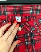 Mini spodniczka w kratke...