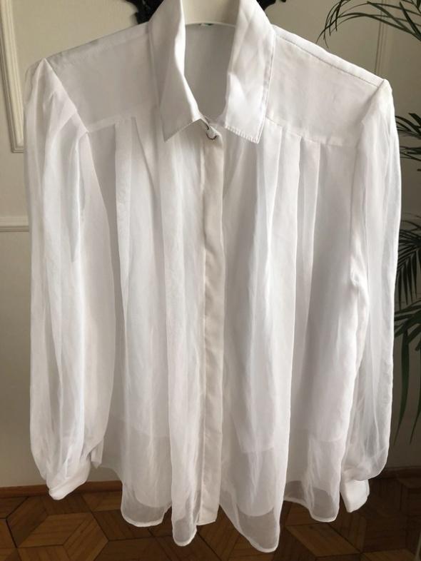 Koszule Biala koszula vintage
