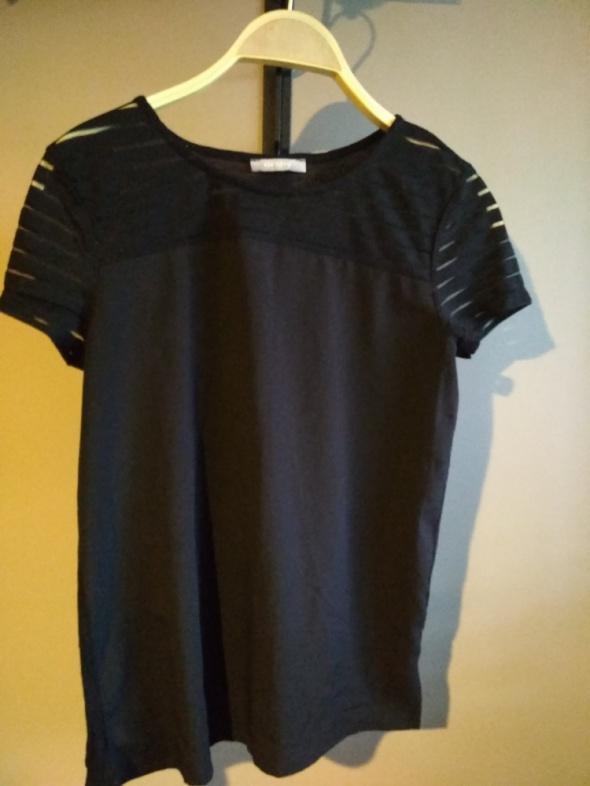 Koszulka orsau mgiełka wizytowa elegancka XS paski...