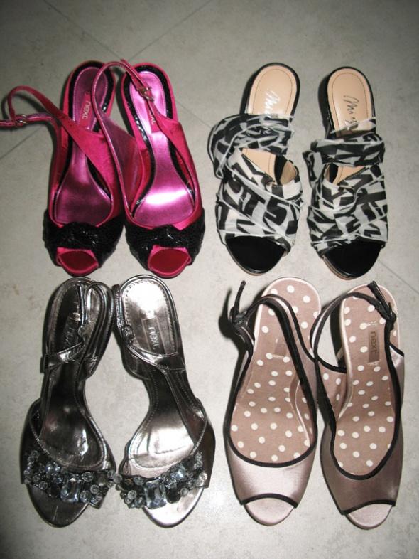 MEGA ZESTAW butów damskich eleganckie szpilki roz37
