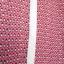 Next sukienka różowa retro plisowana wzory kołnierzyk collar
