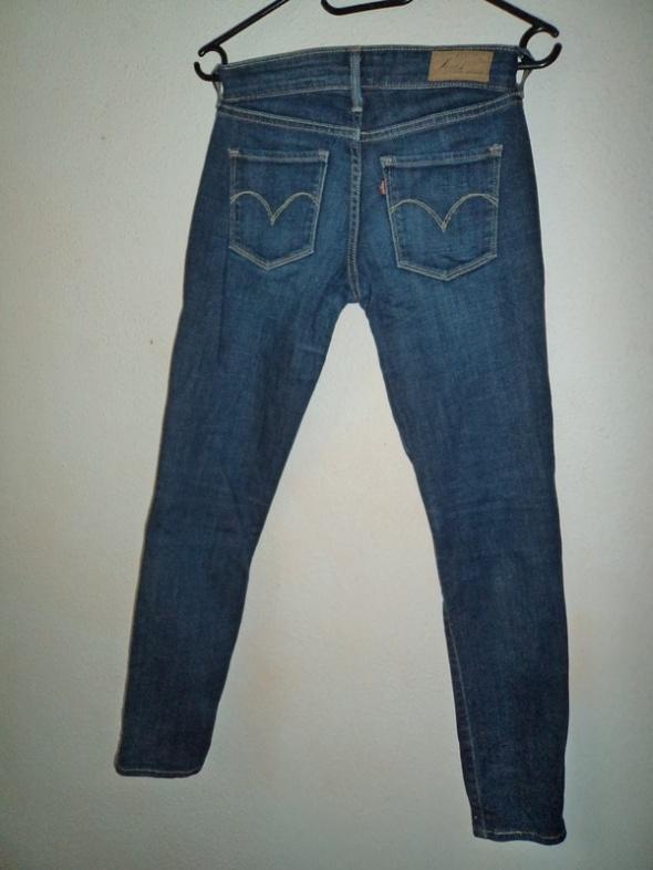 spodnie jeansowe rurki Levis XS 26 jak nowe lee