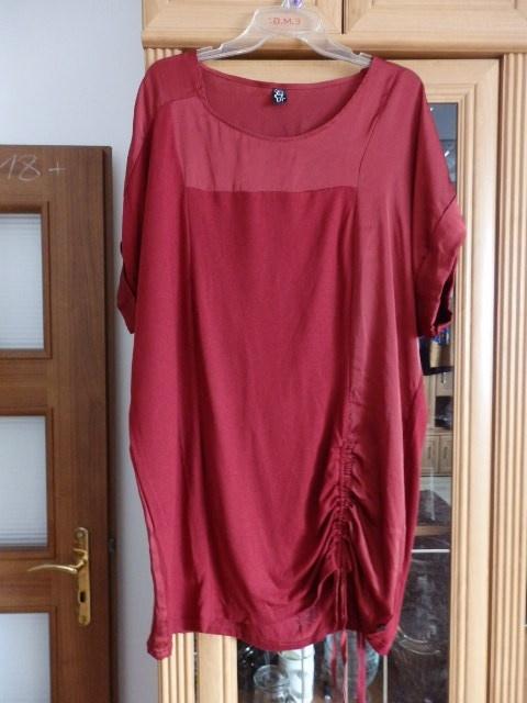 sukienka czerwone wino