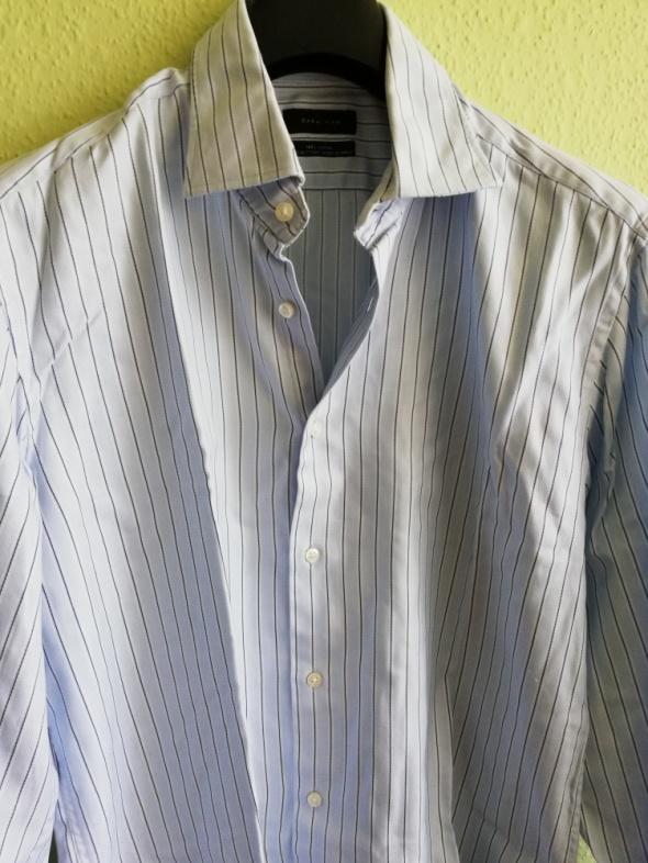 Zara Man koszula męska w paski rozmiar 42...