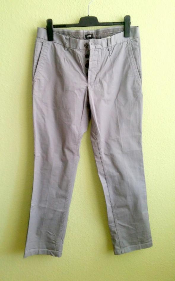 Spodnie męskie nowe szare H&M rozmiar 50 XL