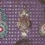 Cudo wisiorki sowa pawie piórko kamea Opia