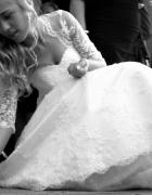 suknia slubna koronkowa