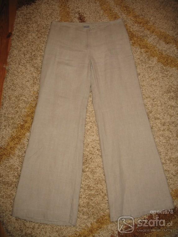 Lniane spodnie...