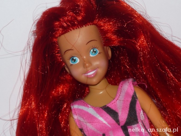 Zabawki MATTEL oryginalna lalka Barbie Ariel Arielka