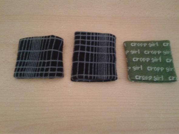 Trzy opaski na rękę czarno szare H&M zielona Cropp na szczupłą rękę