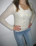 Sweterek Tally Waijl w kolorze ecru