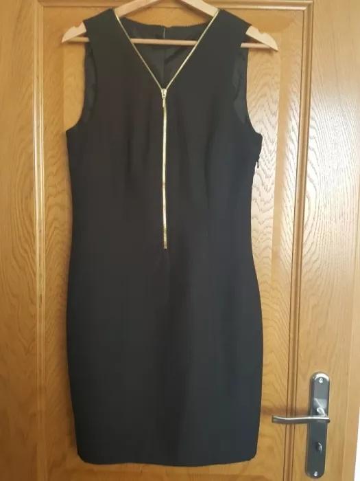 Czarna sukienka Vero Moda rozmiar 38 M z zamkiem