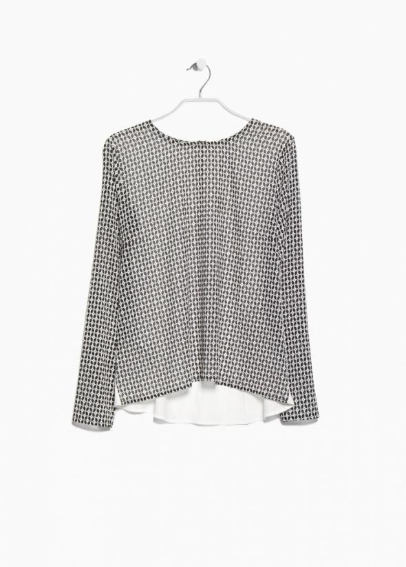 Koszula Mango M S wzory