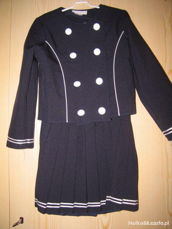 Dziewczęcy komplet elegancki mundurek