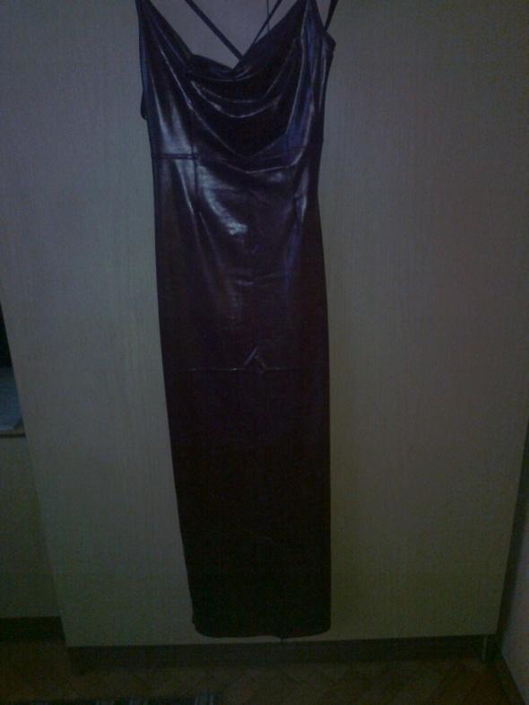 długa suknia rura