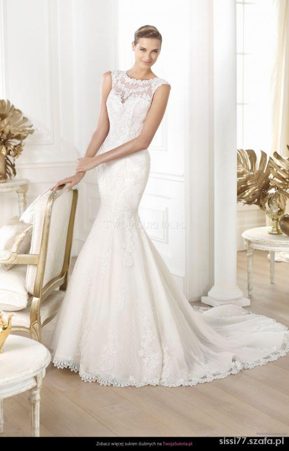 Zjawiskowa suknia ślubna PRONOVIAS LANDEL