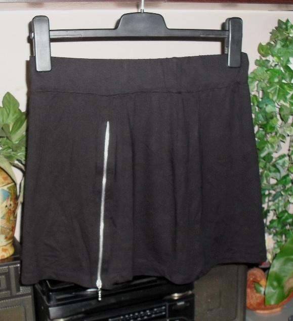 czarna spodnica z zankiem roz 42