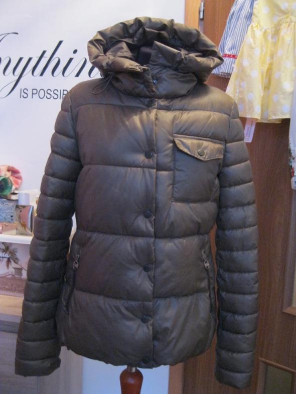 kurtka zimowa pikowana CLOCKHOUSE L khaki
