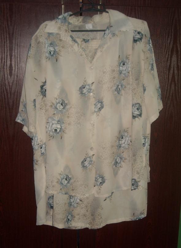 Komplet kostiumgarsonka sukienka bluzka spódnica 42