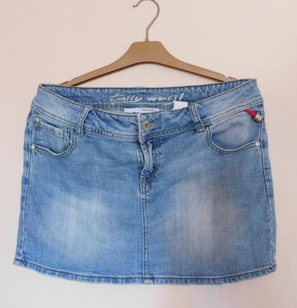 Tally Weijl spódnica jeans mini 42