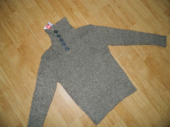 HOT&SPICE ciepły sweter z golfem roz 152