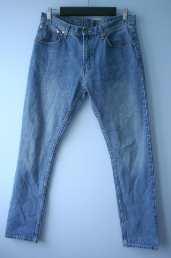 Cheap Monday męskie spodnie jeansy niebieskie...