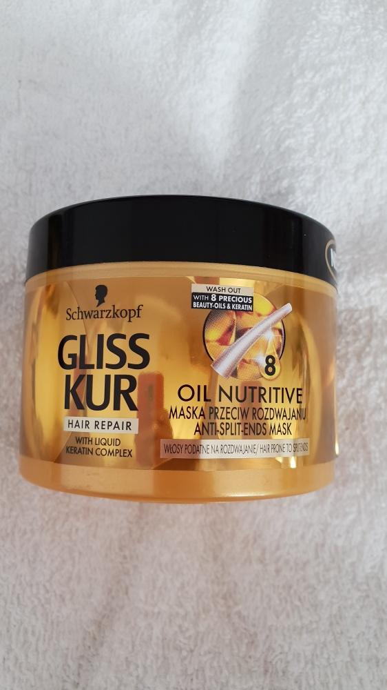 Maska do włosów Schwarzkopf Gliss Kur Oil Nutritive