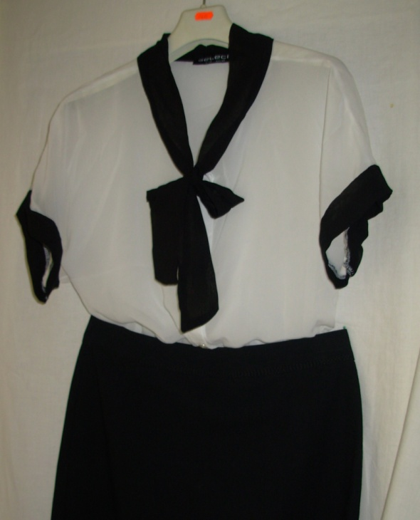 Komplet bluzka i spódnica 40