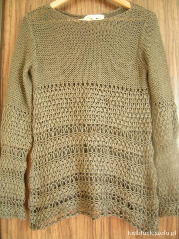 włoski azurowy sweterek 36 38