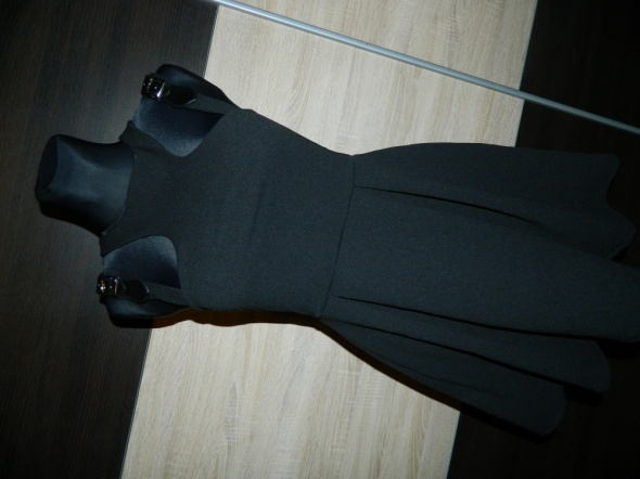 HOTTENTOT sukienka mała czarna roz 36