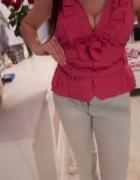 Różowa bluzeczka elegancka Zara S...