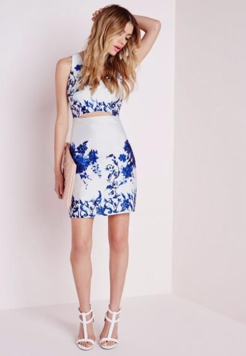 Missguided sukienka cut out śliczna