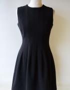 Sukienka Czarna Elegancka Do Pracy M 38 H&M...