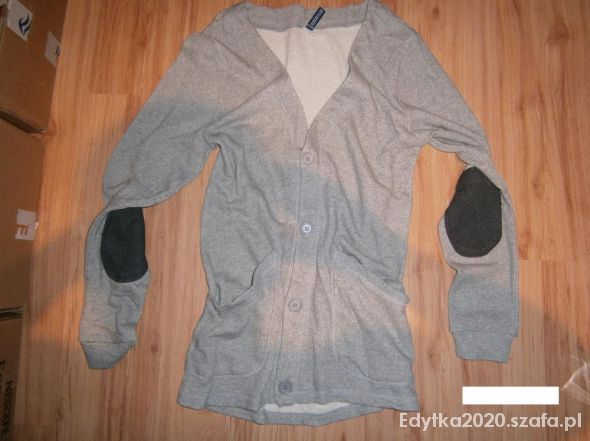 Sweter DIVIDED by H&M łaty rozmiar L