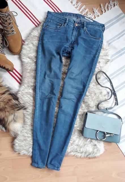 HM rurki 29 31 jeans siknny