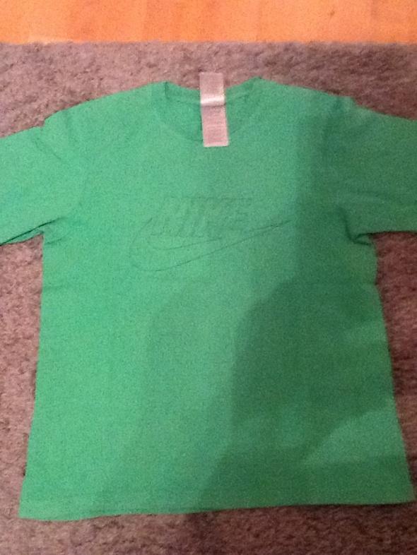 Nike koszulka zielona nike L